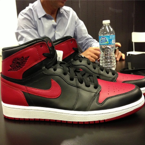 "Air Jordan 1 High OG Retro ""Bred"""