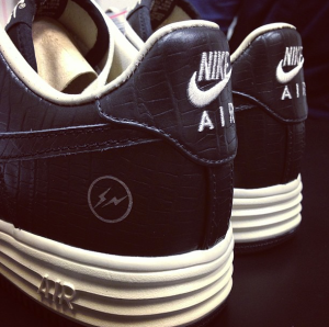 fragment design x Nike Lunar Force 1
