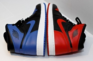 "Air Jordan 1 Retro High OG ""Royal"" & ""Bred"""