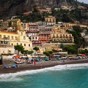 Positano, one of the many picturesque places I visited while staying in Italy